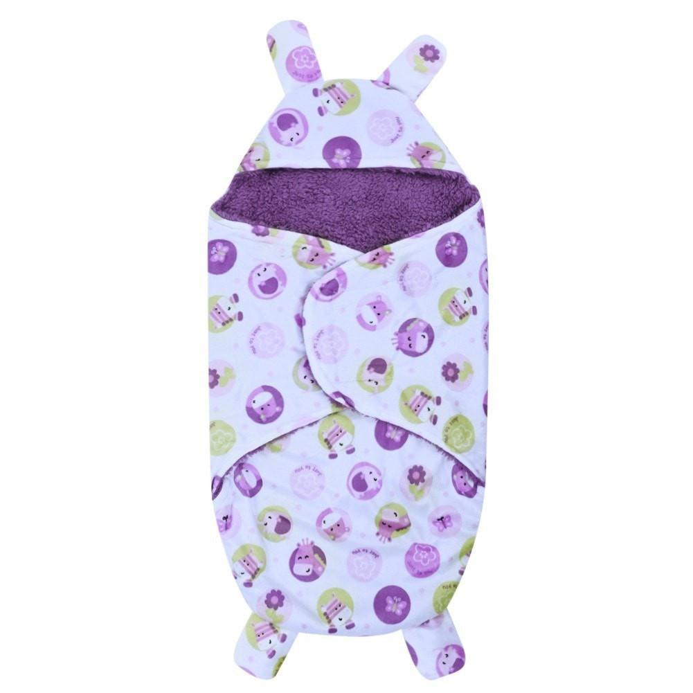 Cute Winter Baby Swaddle Sleeping Bag