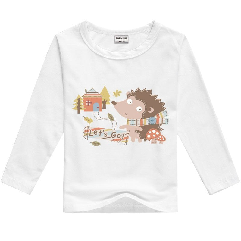 Long Sleeve T-Shirts For Girls And Boys