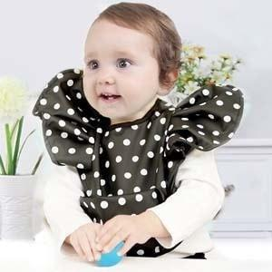 Cute Velcro Bow knot Baby Bibs