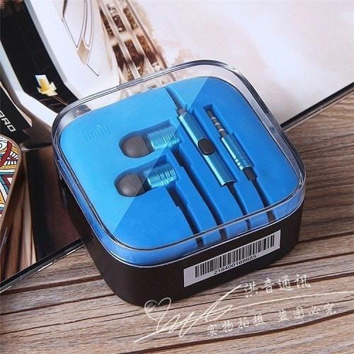 Color Wired Hands Free Earphones With Box