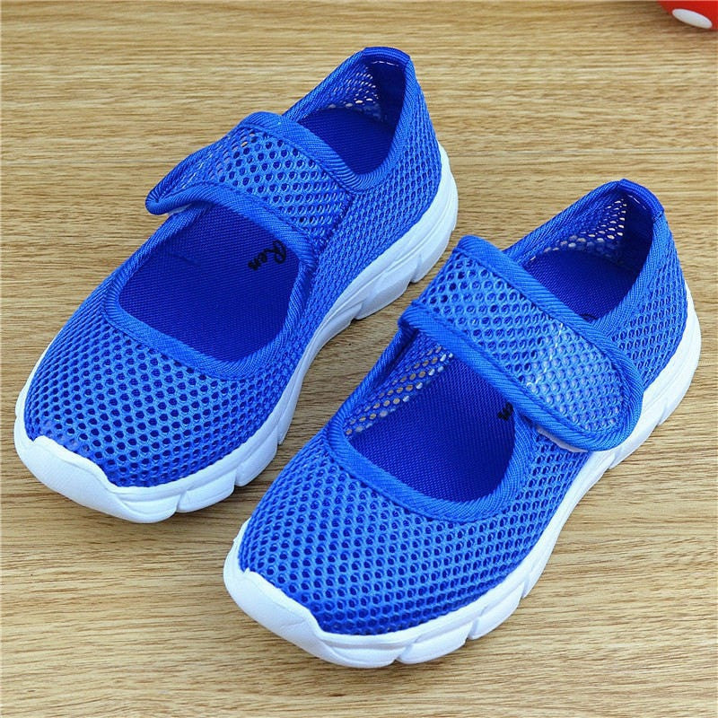 Girls Sneakers Candy Color Mesh