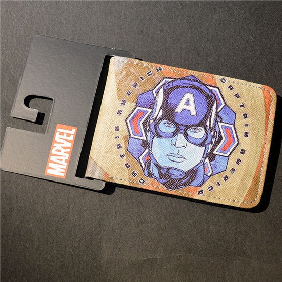 Comics & Cartoon Wallet Printed Card Holder
