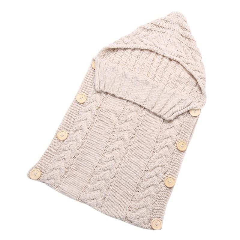 Baby Wrap Knitted Swaddle Blanket
