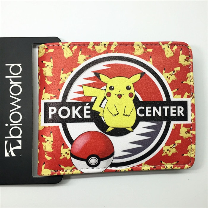 Pokemon Go Printed Wallet with Interior Slots