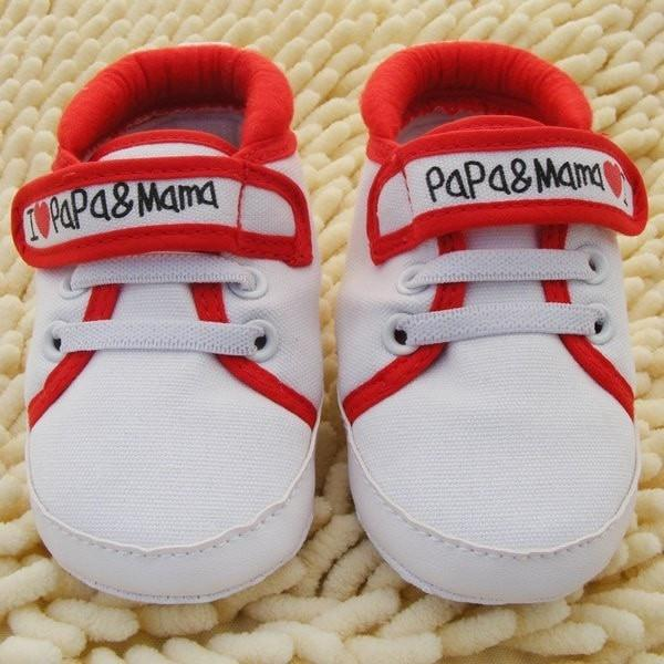 Baby Moccasins Canvas Sneaker