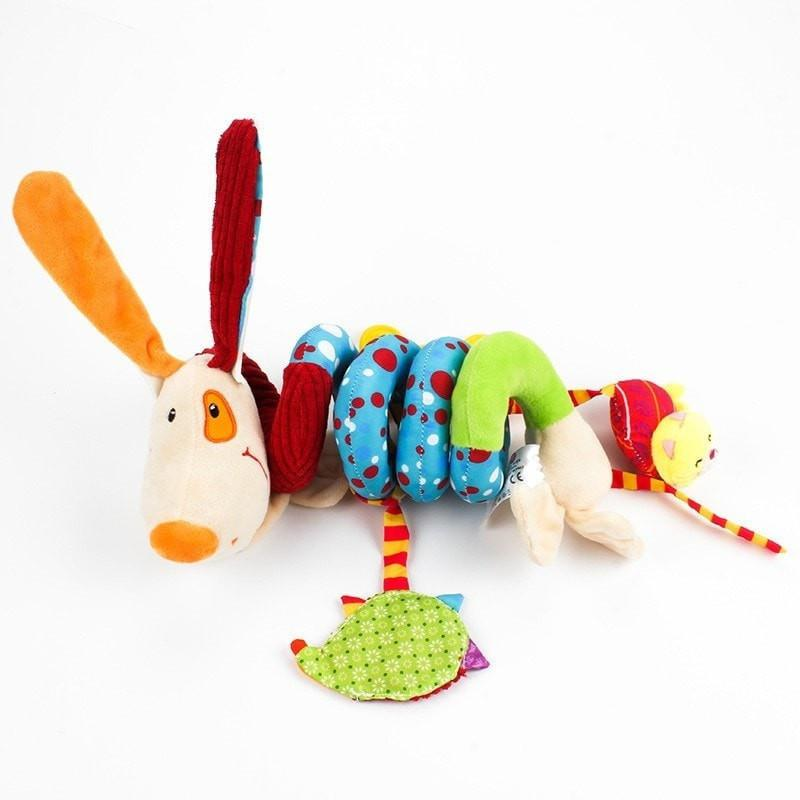 Bed Stroller Plush Dog Mobile