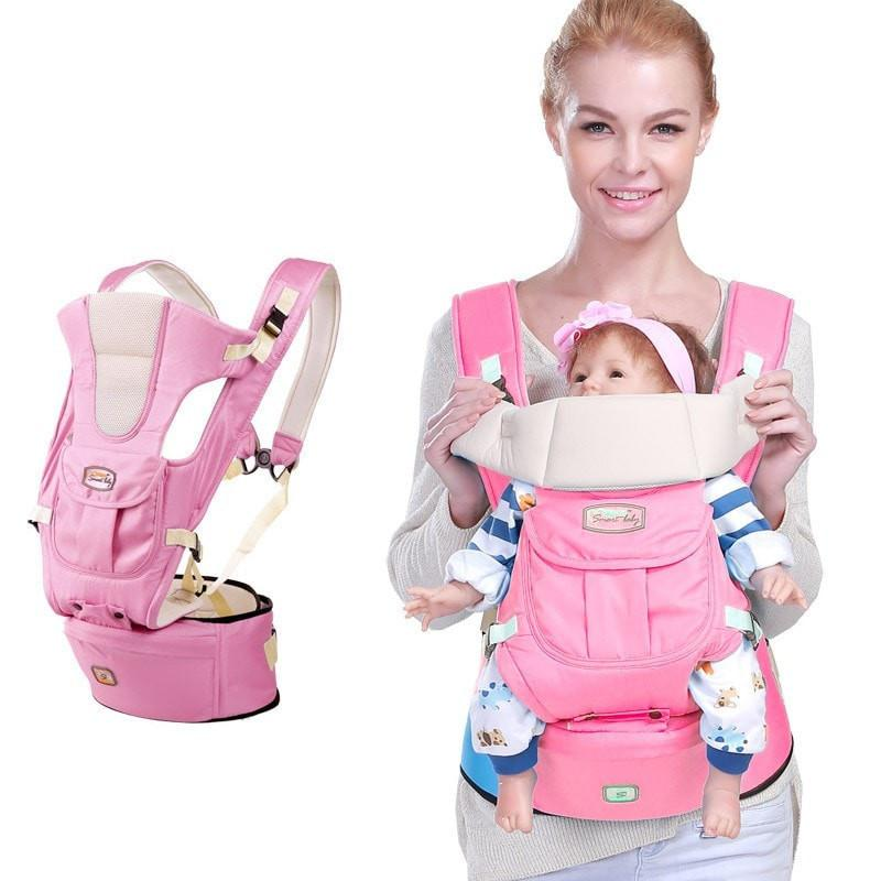 Infant Ergonomic Baby Carrier With Hipseat