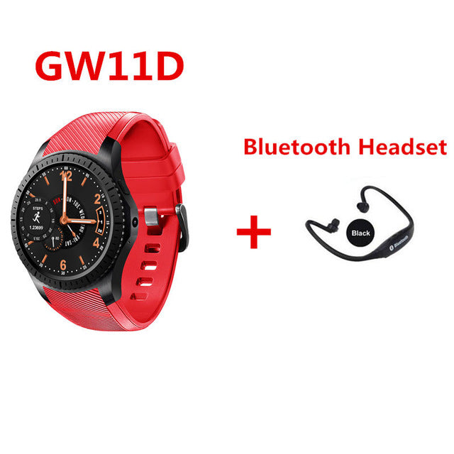 3G GPS Wifi 450MAH 2.0MP Heart Rate Monitor Fitness Tracker Bluetooth smartwatch