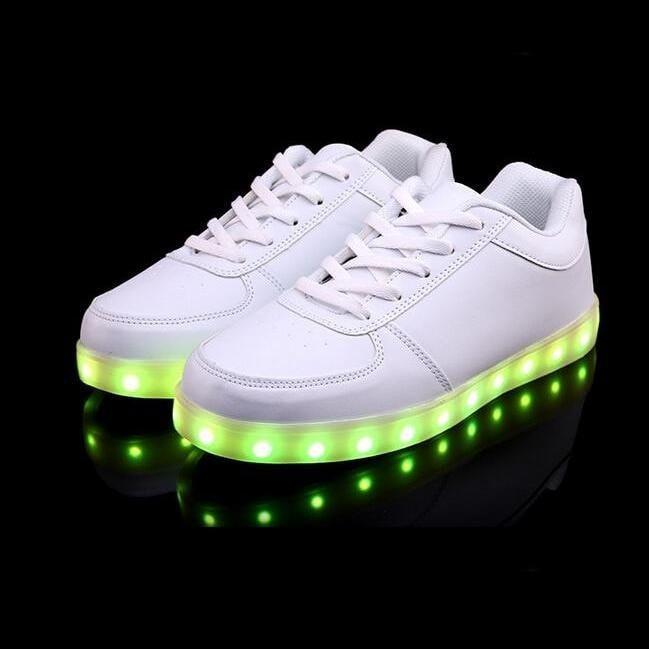 LED Glowing Shoes - USB charging