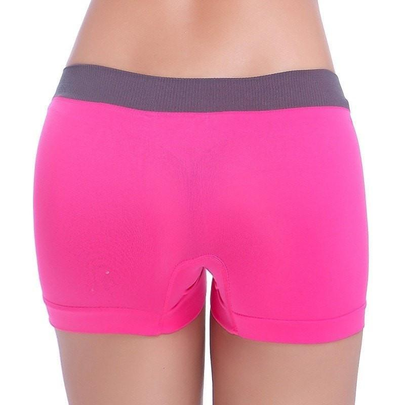 Hot Sell Female Shorts - Women's Candy Colors Solid Sportswear Shorts - Casual Fashion