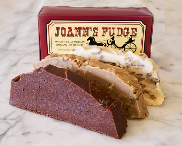 Three Slice Box of Fudge