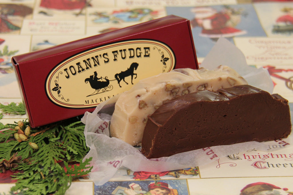 Two Slice Box of Fudge - Holiday