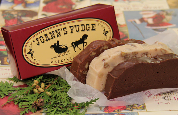 Christmas Three Slice Box of Fudge First Delivery