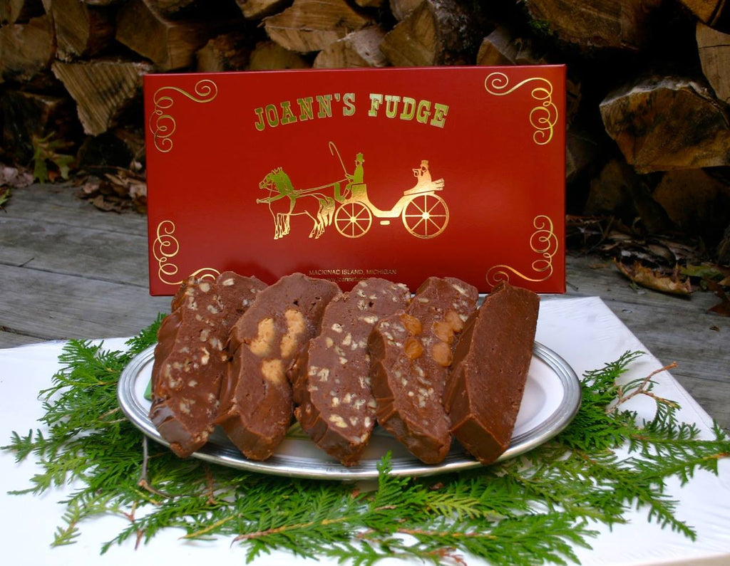Christmas Five Slice Box of Fudge First Delivery