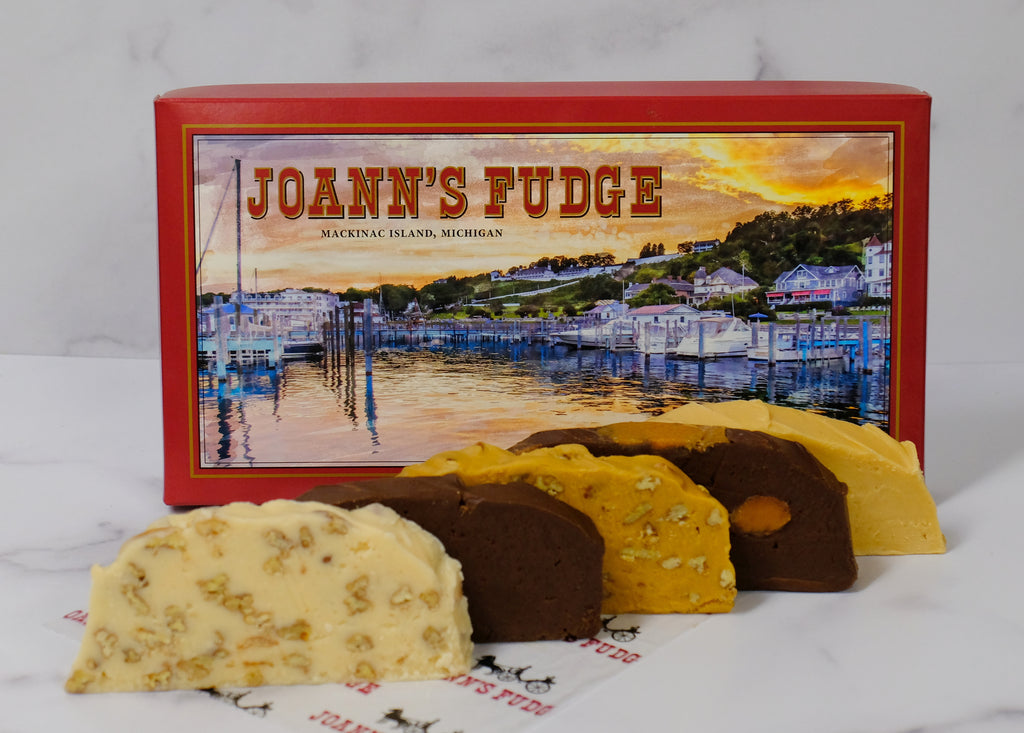 Five Slice Box of Fudge - Harbor Sunset