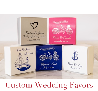 Custom Wedding Favors