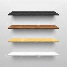 Wood Bullnose Shelves