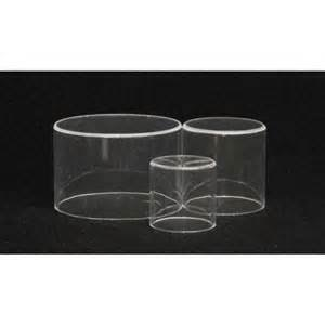 Acrylic Cylinder Risers ( Set of 3)