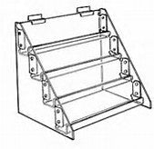 3 Tier Accessory Displayer for Slatwall