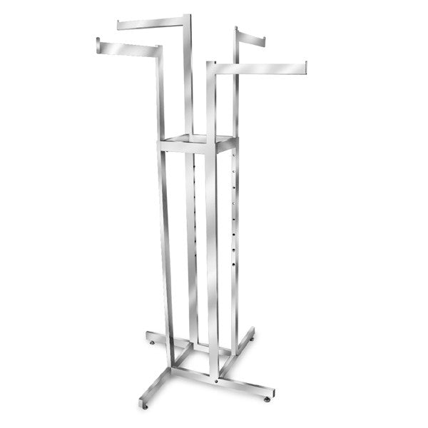 4 Way Adjustable Straight Rack