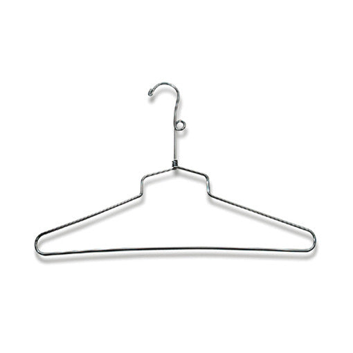 Chrome Dress and Shirt Hanger