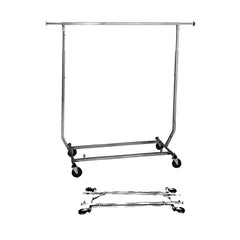 Collapsible Square Tubing Garment Rack