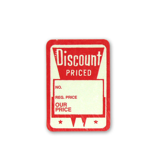 Discount Price Adhesive Tag