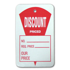 Large Discount Priced Tags