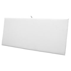 White Leatherette Display Pad/Insert
