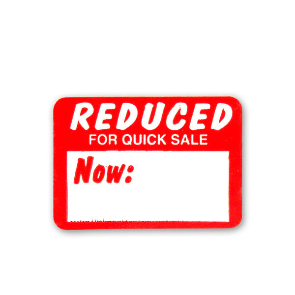 Reduced Price Adhesive Tags
