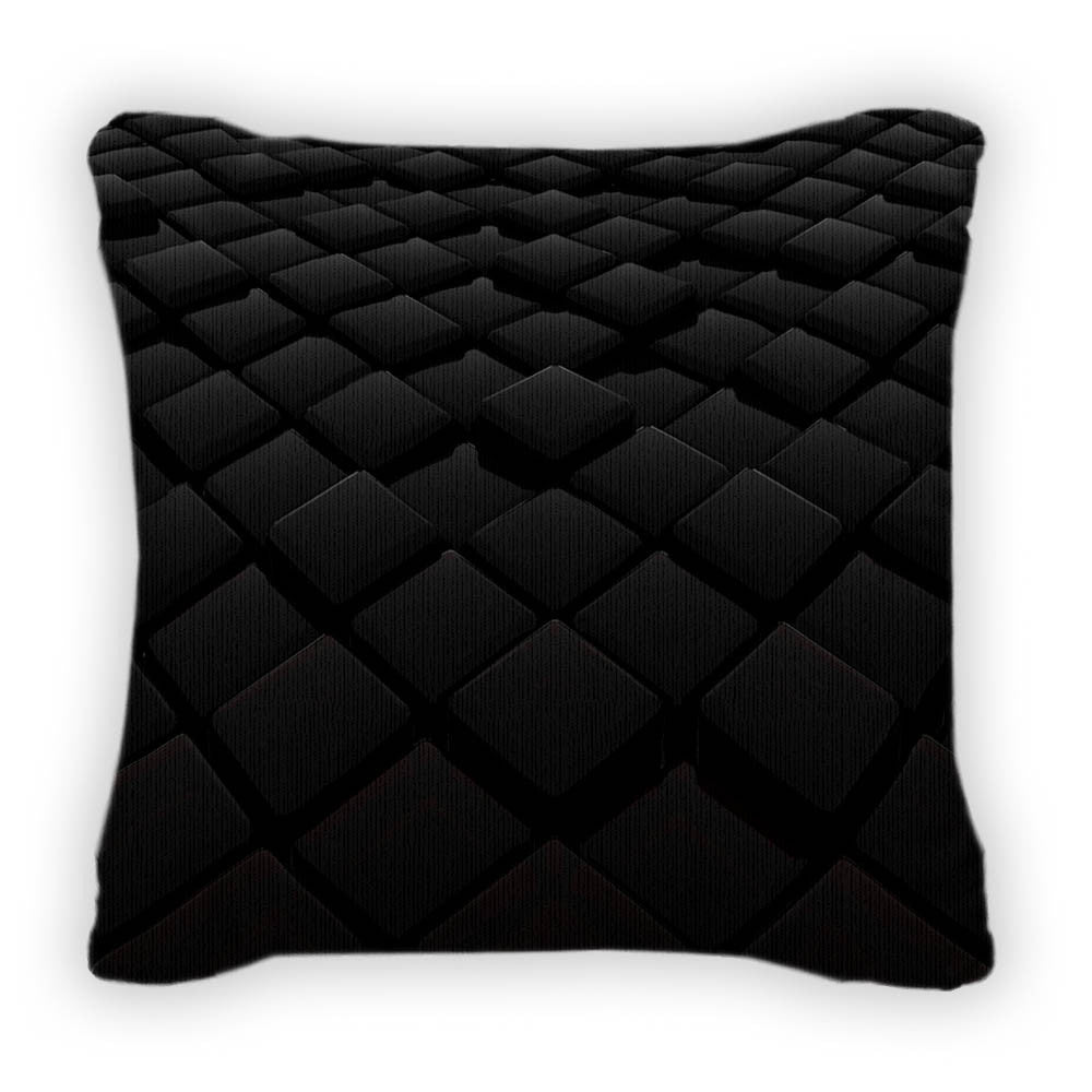3d Throw Pillow With Removable Cover Poplin 14x14 Gn4936 Gear New