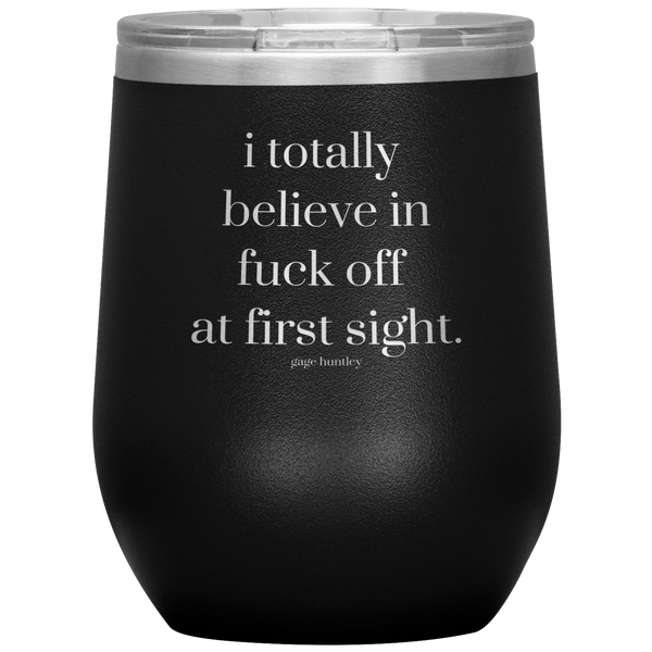 At First Sight- Wine Tumbler