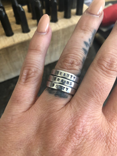 The Ring- Customize it! (Silver)