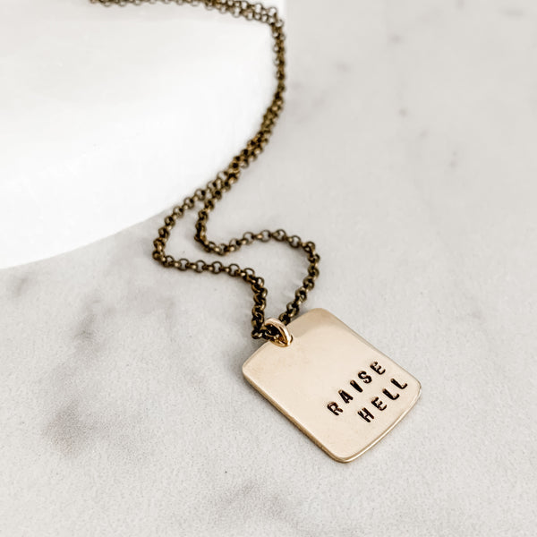 Raise Hell Necklace