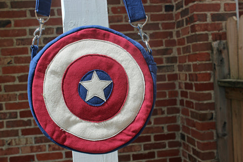 Cap's Cross Body Shield Bag