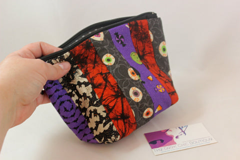 Ghastly and Ghoulish Open Wide Zipper Pouch