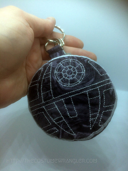 That's No Moon Mini Zipper Pouch Keychain