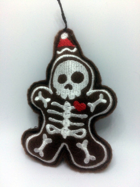 Clint The Skeleton Gingerbread Man of Christmas Past