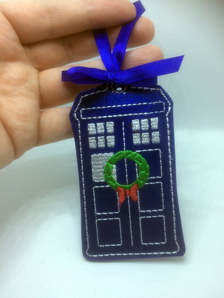 Police Box WHOrnament