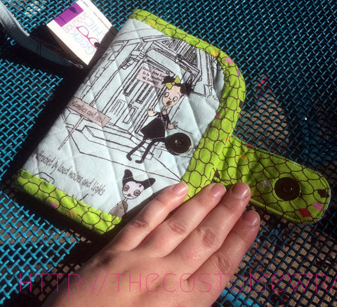 Zombie Apocalypse Survival Folding Fabric Wallet