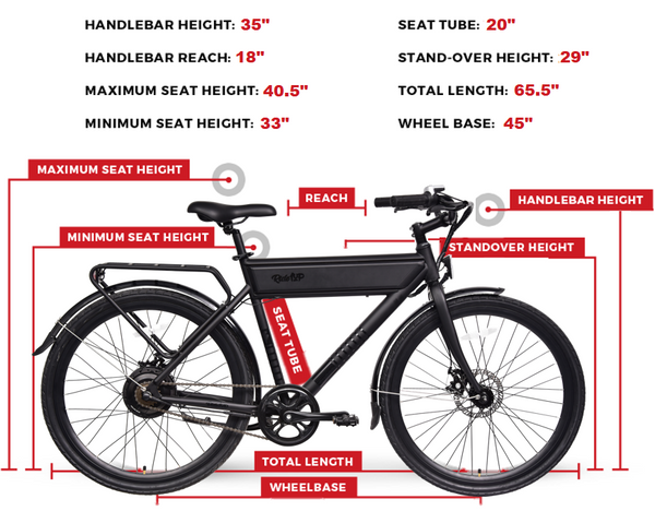 Electric Bike Sizing Guide Roadster Ghost