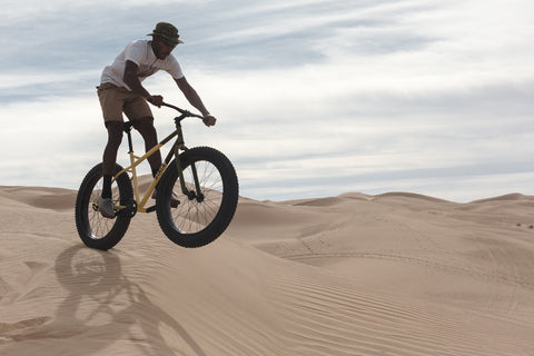 Fat Tire Bike in the Sand