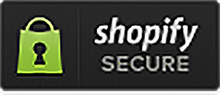 Shopify secure badge dark shadow