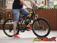 Addmotor Electric Bikes Addmotor HITHOT Electric Mountain Bicycle 500W 27.5 Inch E-Bike H-1