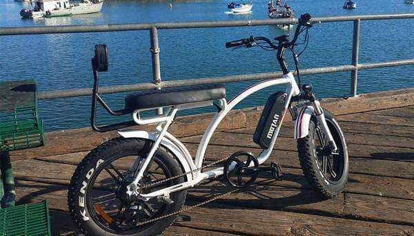 Addmotor Electric Bikes Addmotor MOTAN Electric Bike Cruiser Bike 750W 11.6 AH 20 Inch Fat Tire E-Bike M-60 R7