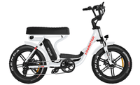 Addmotor Electric Bikes Addmotor MOTAN Electric M-66 R7 Step Thru Fat Tire