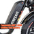 "Addmotor Electric Bikes Addmotor MOTAN M-60 R7 750W 11.6 AH 20"" Fat Tire Electric Cruiser Bike"