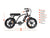 Addmotor Electric Bikes Addmotor MOTAN M-66 R7 Step Thru Electric Fat Tire Bike
