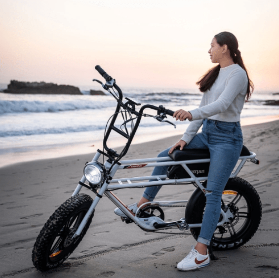 Addmotor Electric Bikes Addmotor MOTAN Retro Electric Fat Tire Beach Cruiser Bicycle 750W M-70 R7