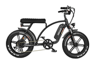 Addmotor Electric Bikes One Size / Black Addmotor MOTAN Electric Bike Cruiser Bike 750W 11.6 AH 20 Inch Fat Tire E-Bike M-60 R7